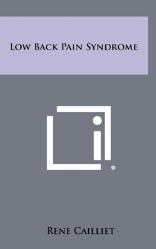 9781258435219: Low Back Pain Syndrome