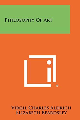 9781258439613: Philosophy Of Art