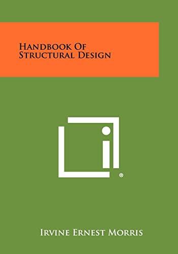 9781258443023: Handbook of Structural Design