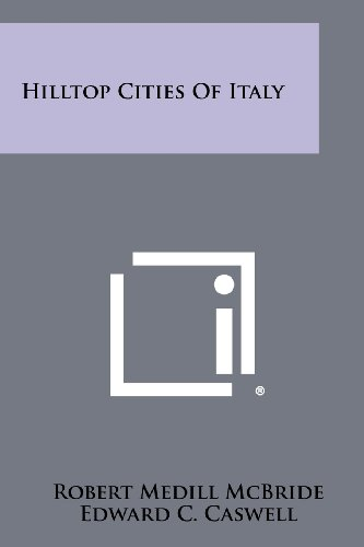 9781258449759: Hilltop Cities of Italy