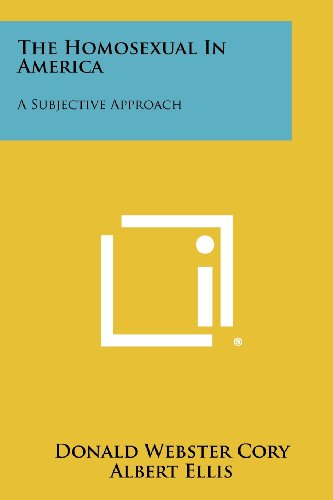 9781258451356: The Homosexual In America: A Subjective Approach