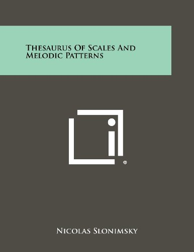 9781258454166: Thesaurus of Scales and Melodic Patterns