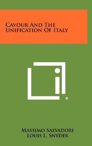 9781258478940: Cavour And The Unification Of Italy