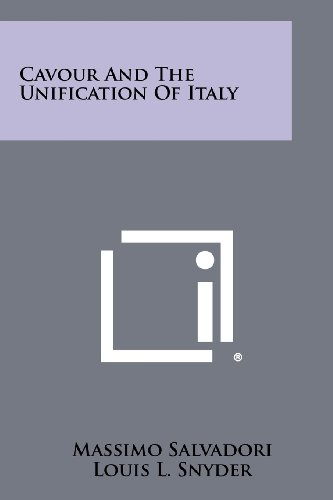 9781258482657: Cavour and the Unification of Italy