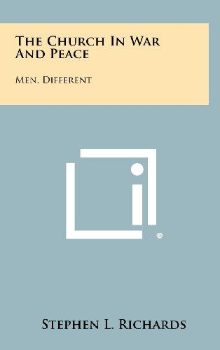 9781258487201: The Church In War And Peace: Men, Different