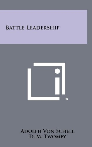 9781258492854: Battle Leadership