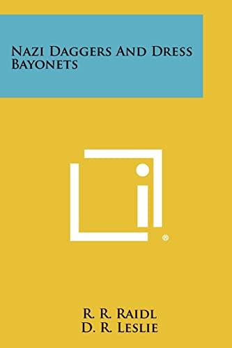 9781258504335: Nazi Daggers And Dress Bayonets
