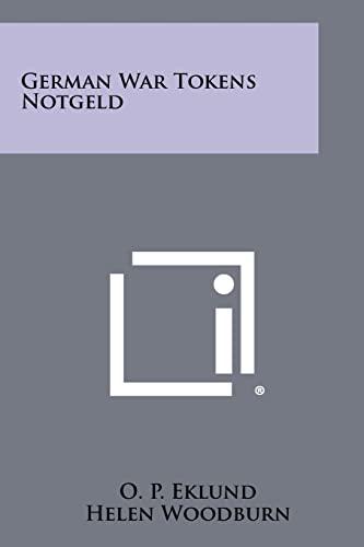 German War Tokens Notgeld: Eklund, O. P.