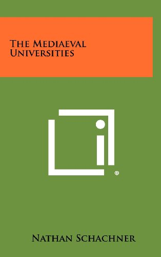9781258509903: The Mediaeval Universities