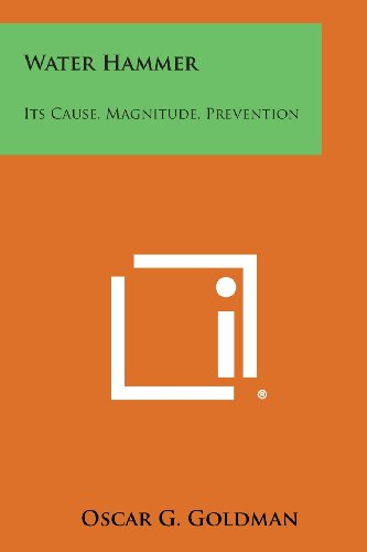 9781258589455: Water Hammer: Its Cause, Magnitude, Prevention