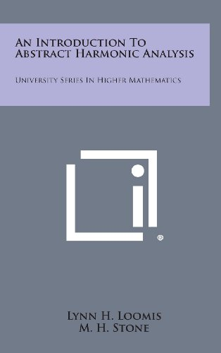 9781258632182: An Introduction to Abstract Harmonic Analysis: University Series in Higher Mathematics