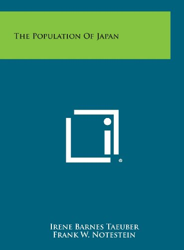 9781258640064: The Population of Japan