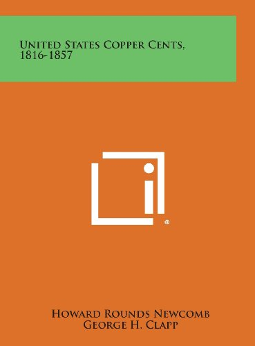United States Copper Cents 1816-1857