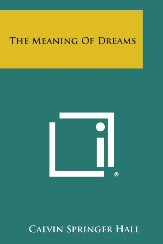 9781258776466: The Meaning Of Dreams