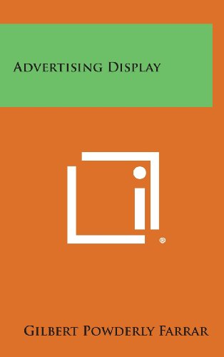 9781258778972: Advertising Display