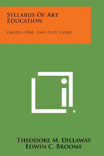 9781258782382: Syllabus of Art Education: Grades One, Two and Three