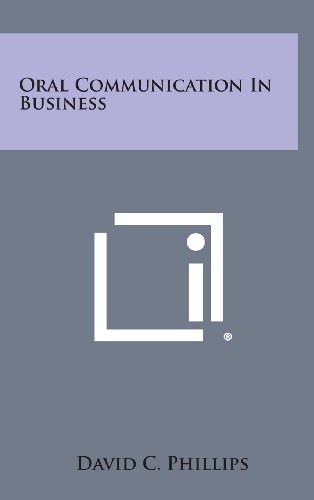 9781258787851: Oral Communication in Business