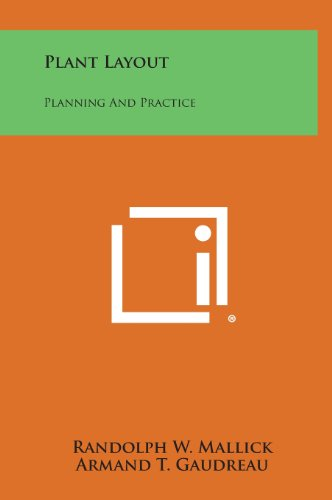 Plant Layout: Planning and Practice (Hardback): Randolph W Mallick,