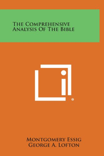 9781258789367: The Comprehensive Analysis of the Bible