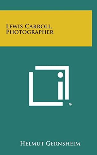 9781258795436: Lewis Carroll, Photographer