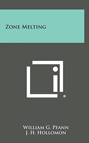 9781258795825: Zone Melting