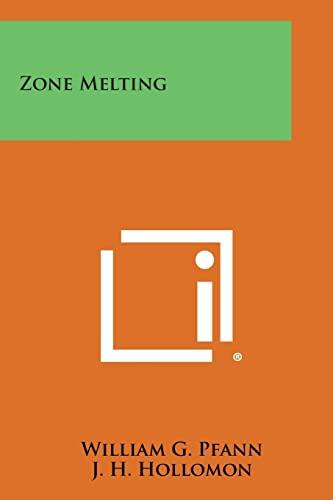 9781258799427: Zone Melting