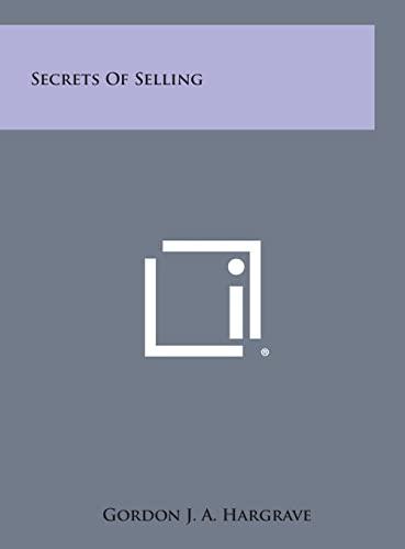 9781258803261: Secrets of Selling