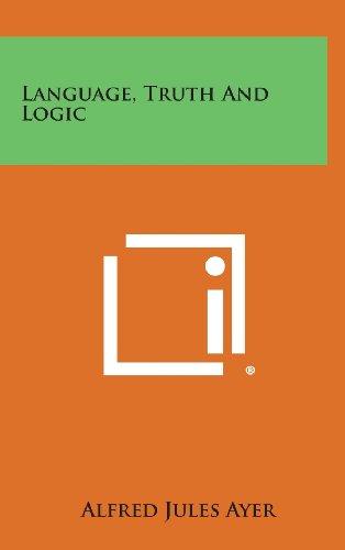 9781258808648: Language, Truth and Logic