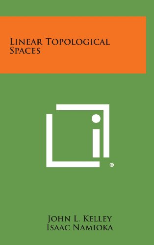 9781258809751: Linear Topological Spaces