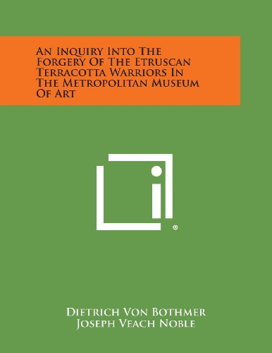 An Inquiry Into the Forgery of the