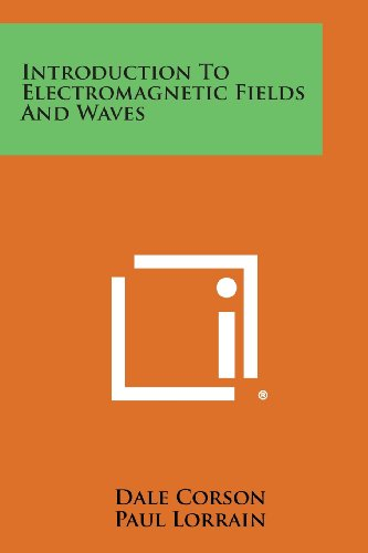 9781258813970: Introduction to Electromagnetic Fields and Waves