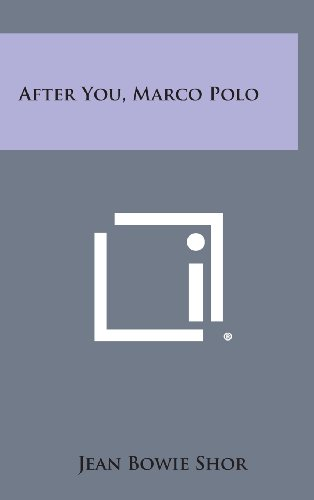 9781258816377: After You, Marco Polo