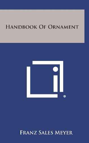 9781258817084: Handbook of Ornament