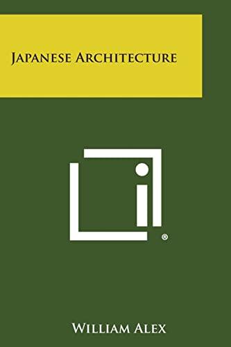9781258817749: Japanese Architecture