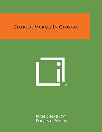 Charlot Murals in Georgia: Charlot, Jean