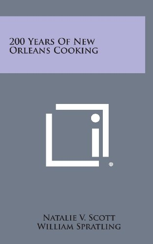 9781258827380: 200 Years of New Orleans Cooking