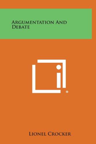 9781258838140: Argumentation and Debate
