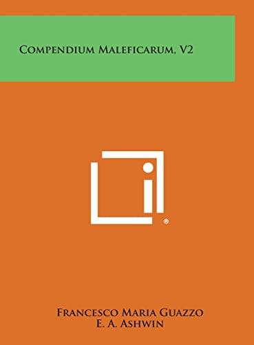 Compendium Maleficarum, V2: Francesco Maria Guazzo
