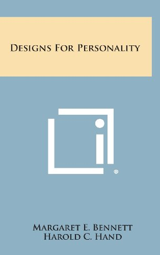 9781258853778: Designs for Personality