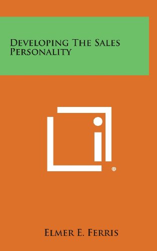 9781258853846: Developing the Sales Personality