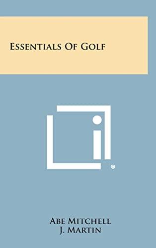 9781258858476: Essentials of Golf