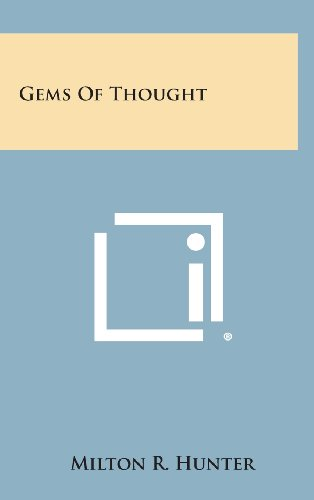 9781258865283: Gems of Thought