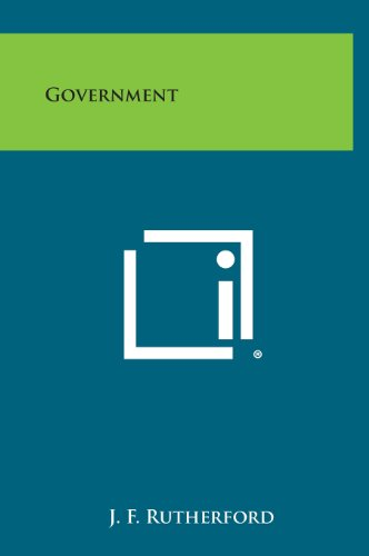 9781258868291: Government
