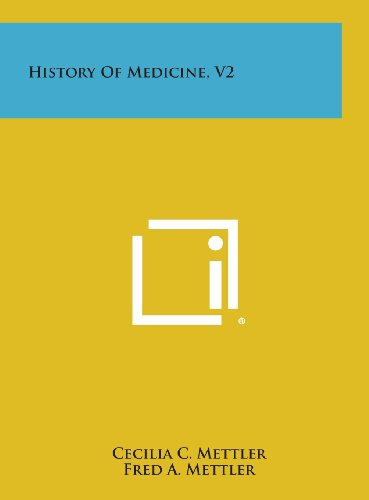 History of Medicine, V2: Mettler, Cecilia C.