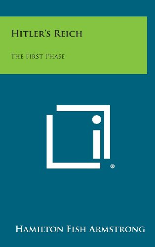 9781258872700: Hitler's Reich: The First Phase