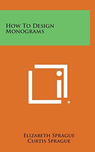 9781258874124: How to Design Monograms