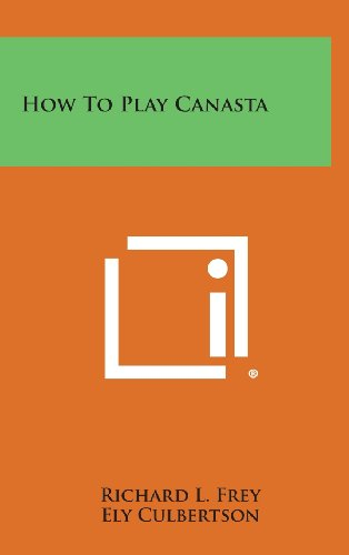 9781258874919: How to Play Canasta