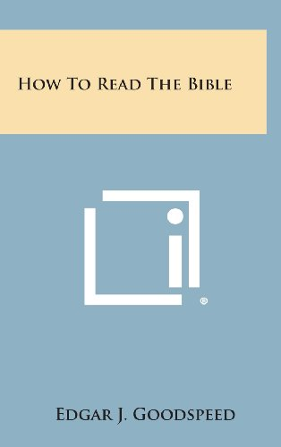 9781258875039: How to Read the Bible
