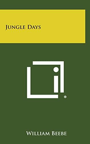9781258882389: Jungle Days