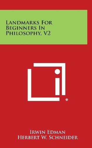 9781258883911: Landmarks for Beginners in Philosophy, V2